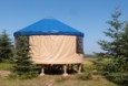Yurt with skylight,NL